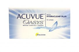 Acuvue Oasys with Hydraclear 12db