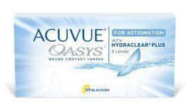 Acuvue Oasys for Astigmatism 6db  2 dobozhoz ajándék 60ml ápolószer